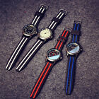 New Ribbon sports analog men's watch quality silicon strap,color shaded glass