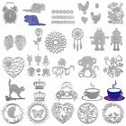 Metal Cutting Dies Stencil For DIY Scrapbooking Embossing Paper Card Decor New