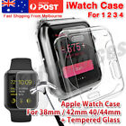 OZ Premium Tempered Glass For Apple Watch iWatch 38mm 42mm Screen Film Protecto