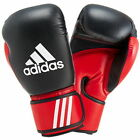 Boxing Gloves Fight Punch Adidas 8oz - 14oz Black/Red ADIBT03 Sports Fighting