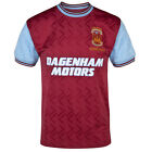 West Ham United FC Official Soccer Gift Mens 1994 Bobby Moore Retro Kit Shirt image