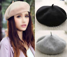 New Classic Women's Warm Soft Fashion French Berets Beanie Slouch Hat Cap Stock