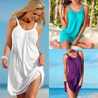 New Women Summer Casual Sleeveless Evening Party Beach Dress Short Mini Dress