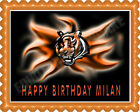 CINCINNATI BENGALS (2) - Edible Birthday Cake Topper OR Cupcake Topper, Decor on eBay