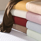 1000TC 100%EGYPTIAN COTTON HOME BEDDING COLLECTION US SIZES NEW STRIPED COLORS