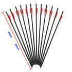 """12x Carbon Arrows 20""""/22"""" Crossbow Bolts Red Blue for Crossbow Hunting Archery"""