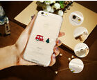 Korean Christmas Pattern Silicone Case For iPhone 6 6s Plus 7 7 Plus *Great Gift