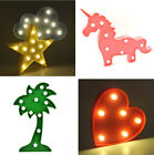 LED Lights Animal Fruit Light Up Baby Kid Adult Night light Lamp Home Decoration