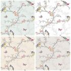 Holden Decor Phoebe Birds Wallpaper 4 Colours