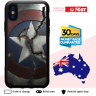 TPU Shockproof Bumper Case Marvel Avengers Civil War Captain America Shield