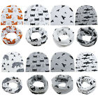 Cartoon Printed Baby Hats Cotton Beanie Hat For Boys Girls Elastic Toddler Caps