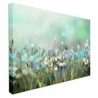 Wildflowers Field Spring flowers Canvas Art High Quality Great Value