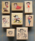 RARE COLLECTIBLE BETTY BOOP  ~ RUBBER STAMPS ~ YOU PICK! ~ HARD TO FIND DESIGNS! $14.79 USD