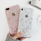 Bling Glitter Crystal Soft Rubber Silicone Case Cover for Apple iPhone 6s 7 Plus