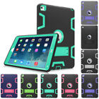 Hybrid Heavy Duty Full Body Protective Case Cover Stand for Apple iPad Air 2