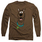 SCOOBY DOO Licensed Adult Men's Long Sleeve Graphic Tee Shirt SM-3XL