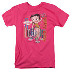 Betty Boop Las Vegas Cocktail Waitress WET YOUR WHISTLE Adult T-Shirt All Sizes $21.95 USD