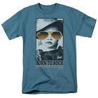 Elvis Presley BORN TO ROCK Licensed Adult T-Shirt All Sizes