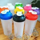400ml Smart Water Protein Blender Shaker Mixer Cup Bottle Drink Whisk Ball New