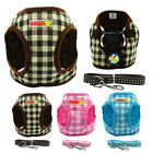 Nylon Puppy Pet Dog Harness and Leash Set for Small Breeds Chihuahua Yorkie