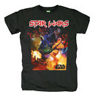 STAR WARS - LIVE ON STAGE (IRON MAIDEN) - OFFICIAL MENS T SHIRT