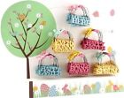 Mini HAPPY EASTER BUNNY Decorative Hanger - SPRING Gift Tags - Easter Hunt Party