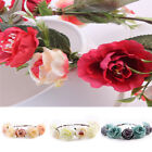 Handmade Floral Wreath Crown Flower Headband Hair Garland Wedding Headpiece
