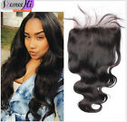 """5x5 Lace Closure 7A Brazilian Body Wave Lace Closure With Bleached Knots 10-24"""""""