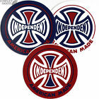 "INDEPENDENT TRUCK CO ""American Made"" Skateboard Sticker Decal INDY Choose Colour"