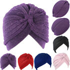 Glitter Shimmer Turban Head Band Hat Cap Hijab Hair Wrap Hair Loss Chemo Bandana