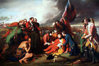 The Death Of General Wolfe Painting by Benjamin West Art Reproduction