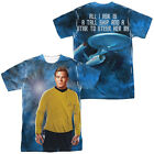 Star Trek Kirk SHIP FOR MY CAPTAIN 2-Sided All Over Print Poly T-Shirt