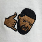 Drake Hotline Bling Embroidered Supreme White Tee T-Shirt by Actual Fact