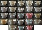 Choice of Pearlised Paper Laser Cut Cupcake Wrappers 12, 50, 100 FREE UK P&P