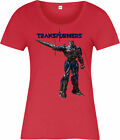 Transformer Ladies T-Shirt,Optimus Prime Sword,The Last Knight - Time Remaining: 6 days 16 hours 22 minutes 8 seconds