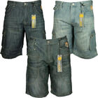 MENS BRAND NEW BIG SIZE SHORTS KAM MARIO IN BLUE WASH COLOURS SIZE 40 TO 60