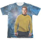 Star Trek Original Series Captain Kirk Picture 1-Sided Print Poly Cotton T-Shirt