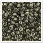 20g - 100g Transparent Grey Seed beads Size 8/0. JM12