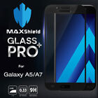 MAXSHIELD TEMPERED GLASS SCREEN PROTECTOR FOR SAMSUNG GALAXY A5/A7 2017 A8 2018