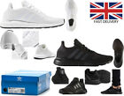 Adidas Originals Mens ZX Flux Trainers Lace Up Black Running Shoes adidas