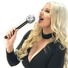 Toy Rockstar Plastic Singing Karaoke Microphone Pop Star Party Favors Gifts Prop