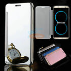 Luxury Mirror View Flip Slim Case Cover for Samsung Galaxy S8/S8 Plus New