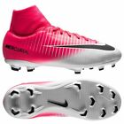 Nike Mercurial Victory VI FG  2017 Dynamic Fit Soccer Shoes Pink Kids Youth
