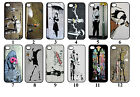 Banksy Street Art Case/Cover. Designs for Iphone 4/4s,5/5s, 5c & 6(4.7)/6+