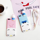 3D Cartoon Donald Duck /Daisy iPhone Case For iPhone 6 6s 7 7 Plus *Great Gift*