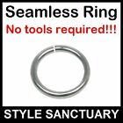 Seamless Ring Segment Septum Tragus Nose Hoop Ear Nipple Earring Eyebrow Lip Bar