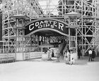 Maryland Amusement Park Large Art Photo Print Wall Decor Living Room 1920s
