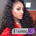 Queen Deep Wave Curly  Full /Front Lace Wig 100% Brazilian Human Hair Lace Wigs