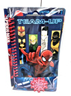 OFFICIAL MARVEL SPIDERMAN NOTE PAD PENCIL ERASER STATIONARY GIFT SET KIT NEW