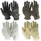 Adults Equi Leather Horse Riding Show Jumping Competition Gloves Size UK XS-XXL